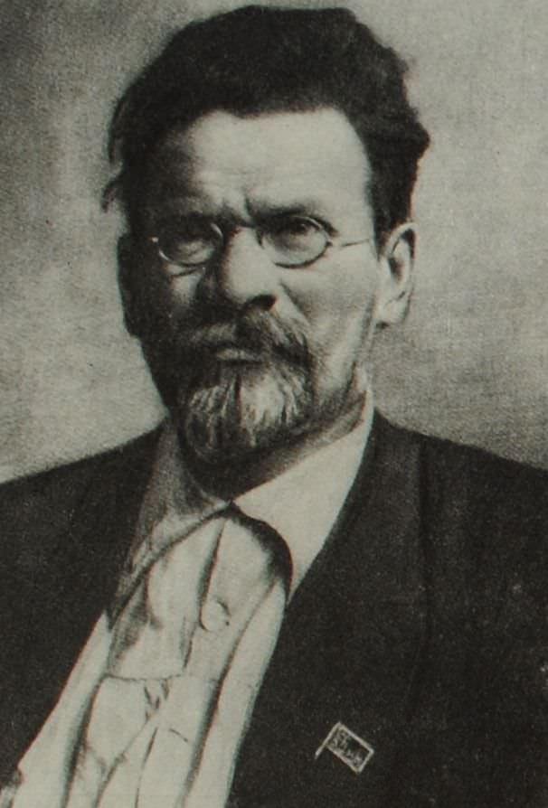 М.И. Калинин. Фотография. 1922 год.