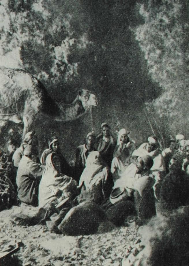 Друзы. Фотография. 1925 год.